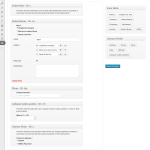 Booking form customiser